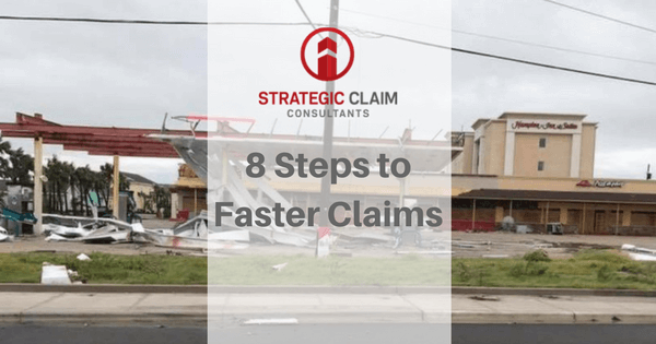 How to get your property claim paid faster